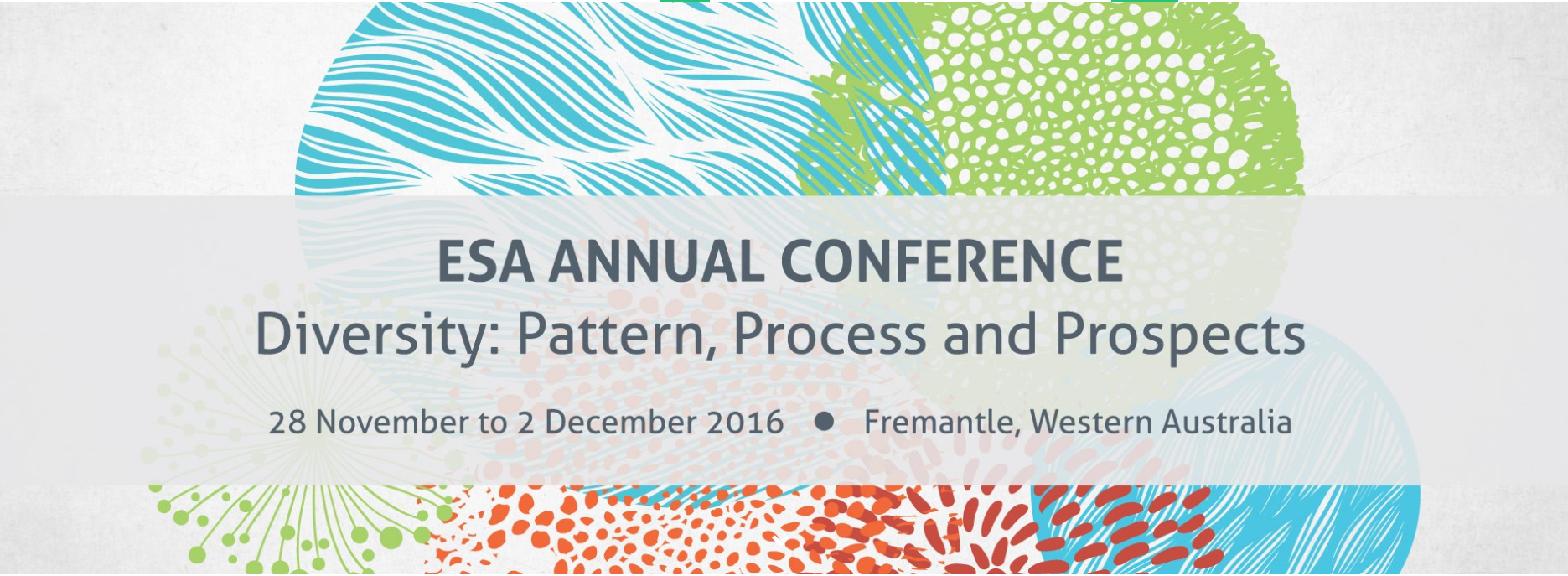 Ecological Society of Australia Annual Conference
