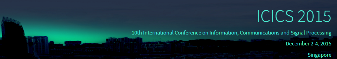 The 2015 ICICS Conference