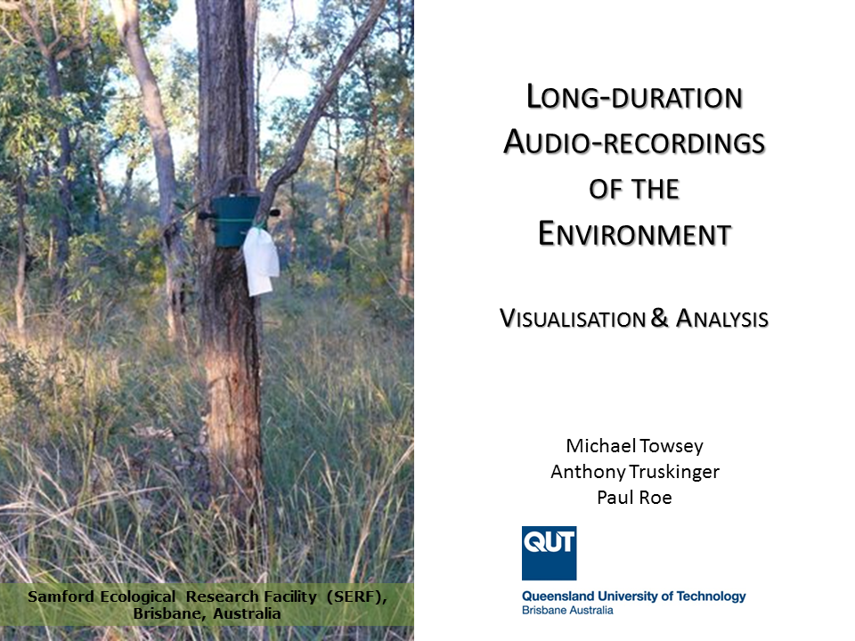 Long-duration Audio-recordings of the Environment